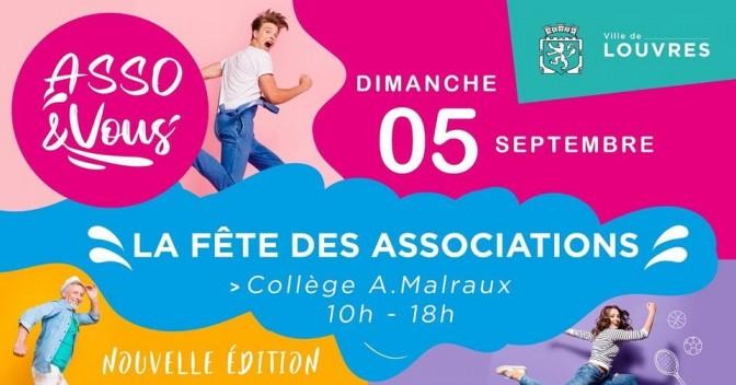 Image de l'actu 'Asso & Vous, la fête des associations, Dimanche 05 septembre 10h-18h'