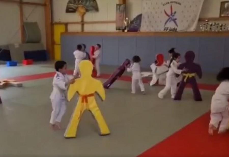 Cours de Baby Judo