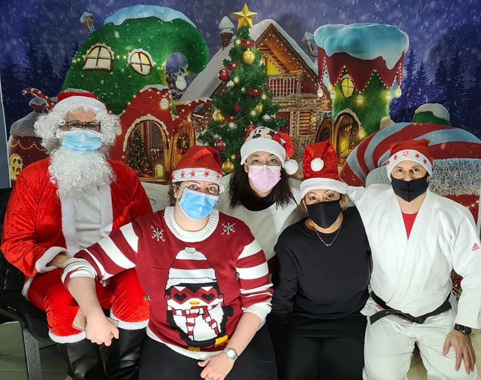 Cours avec le père Noël 12-2020